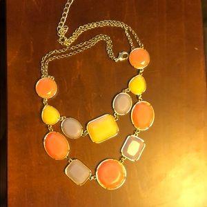 Pastel chunky necklace